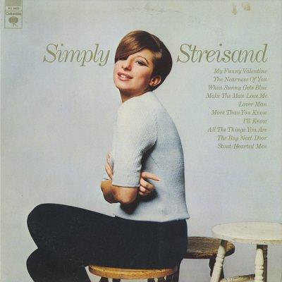 BARBRA STREISAND--SIMPLY STREISAND Vinyl LP