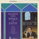 DAVE BOYER SINGS SONGS OF FAITH Vinyl LP
