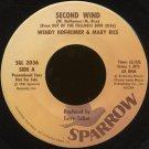 "WENDY HOFHEIMER & MARY RICE--""SECOND WIND"" (2:32)/""INSTANT BREAKFAST"" (1:42) 45 RPM 7"" Vinyl"