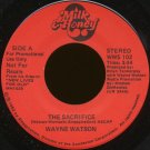 "WAYNE WATSON--""THE SACRIFICE"" (3:54) (Stereo/Mono) 45 RPM 7"" Vinyl"