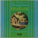 THE LONESOME TRAVELERS--TEN SHADES OF BLUEGRASS Vinyl LP