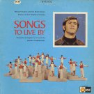 RICHARD ROBERTS And The World Action Singers--SONGS TO LIVE BY Vinyl LP
