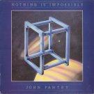 JOHN PANTRY--NOTHING IS IMPOSSIBLE Vinyl LP (UK Pressing)