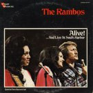 THE RAMBOS WITH THE SUNSHINE EXPRESS--ALIVE! . . . AND LIVE AT SOUL'S HARBOR Vinyl 2-LP Set