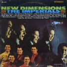 IMPERIALS--NEW DIMENSIONS Vinyl LP (Canadian Pressing)