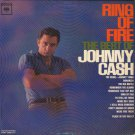 JOHNNY CASH--RING OF FIRE: THE BEST OF JOHNNY CASH Vinyl LP (Mono Red 2-Eye Label)