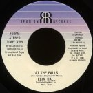 "ELIM HALL--""AT THE FALLS"" (3:55)/""LET'S PLAY SCIENCE SAYS"" (3:00) 45 RPM 7"" Vinyl"