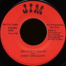"JIMMY SWAGGART--""HEAVEN'S JUBILEE"" (2:36) (Stereo/Stereo) 45 RPM 7"" Vinyl"