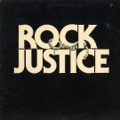 VARIOUS ARTISTS--ROCK JUSTICE (SOUNDTRACK) Vinyl LP