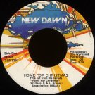 "DON WYRTZEN & PHIL BROWER--""HOME FOR CHRISTMAS"" (2:15) (Stereo/Stereo) 45 RPM 7"" Vinyl"