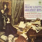 JORGE BOLET, ROBERT IRVING & THE SYMPHONY OF THE AIR--MORE OF FRANZ LISZT'S GREATEST HITS Vinyl LP
