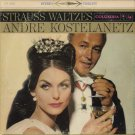 ANDRE KOSTELANETZ AND HIS ORCHESTRA--STRAUSS WALTZES Vinyl LP