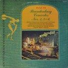 FRIEDRICH TILEGANT/SOUTH WEST GERMAN ORCHESTRA--BACH: BRANDENBURG CONCERTS NOS. 3, 4 & 6 Vinyl LP