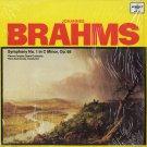 VIENNA PEOPLES OPERA ORCHESTRA/HANS SWAROWSKY--JOHANNES BRAHMS: SYMPHONY NO. 1 IN C MINOR Vinyl LP