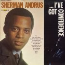 SHERMAN ANDRUS--I'VE GOT CONFIDENCE Promo Vinyl LP