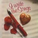 VARIOUS--I WRITE THE SONGS Vinyl LP (Living Strings, Lena Horne, Roger Whittaker)