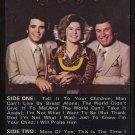 THE BILL GAITHER TRIO--PILGRIM'S PROGRESS 1978 Cassette Tape (1979 Word Reissue)