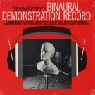 STEREO REVIEW'S BINAURAL DEMONSTRATION RECORD 1970 Vinyl LP