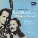 LES PAUL AND MARY FORD--THE HIT MAKERS! 1955 Vinyl LP (Turquoise Label)