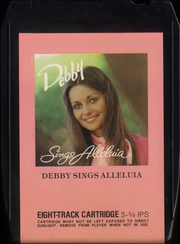DEBBY KARTSONAKIS--DEBBY SINGS ALLELUIA 1977 8-Track Tape Cartridge