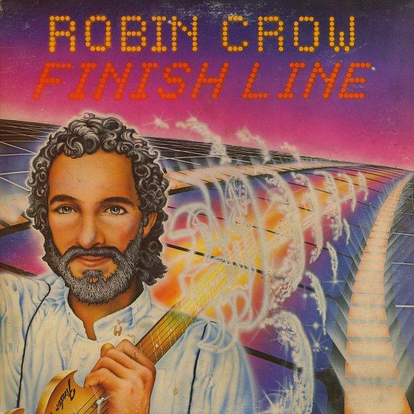 ROBIN CROW--FINISH LINE 1983 Vinyl LP