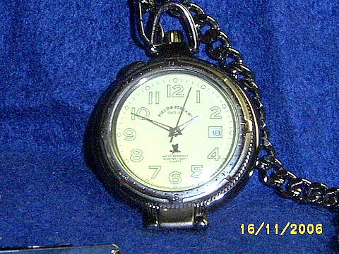 NEW FIELD & STREAM MENS POCKET WATCH
