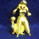 BEAUTIFUL POODLE PIN BY PELL