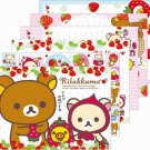 San-X Rilakkuma Memo Pad - Strawberry Series