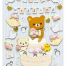 "San-X Rilakkuma ""Wedding"" 3-D Sticker"