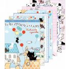 "San-X Kutusita Nyanko ""Secret Meetings of the Cat"" Series Memo Pad - Blue"