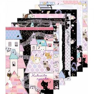"San-X Kutusita Nyanko ""Secret Meetings of the Cat"" Series Memo Pad - Pink"