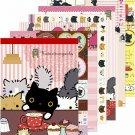 San-X Kutusita Nyanko Cat Cafe Series Memo Pad - #601