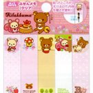 San-X Rilakkuma Relax in the Forest Sticky Notes/Post-It - Pink