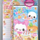 "Crux ""Lovely Peach Chan"" Letter Set"