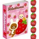 San-X Rilakkuma Strawberry Love Sticky Notes/Post-it Memo