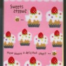 Mind Wave &quot;Cakes/Sweets&quot; Spiral Mini Memo