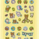 San-X Rilakkuma Glittery Micro Sticker &quot;Korilakkuma Rambunctious Day&quot; - #P1