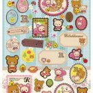 San-X Rilakkuma Relax in the Forest Series Sticker - #403