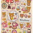 San-X Rilakkuma Relax in the Forest Series Sticker - #404