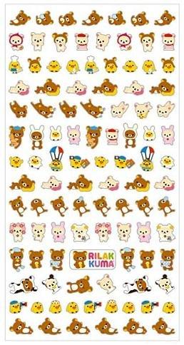 San-X Rilakkuma Mark Seal Collection Sticker - #2