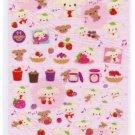 San-X Berry Puppy Sparkly/Glittery Sticker - #11