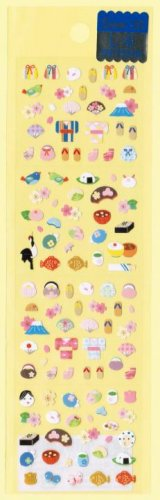 "San-X ""Everything Japanese"" Micro Sticker - #L8"