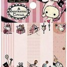 San-X Sentimental Circus Sticky Notes/Post-It - Pink Stripes