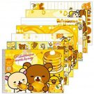 "San-X Rilakkuma ""Honey & Smile"" Memo Pad - #301"