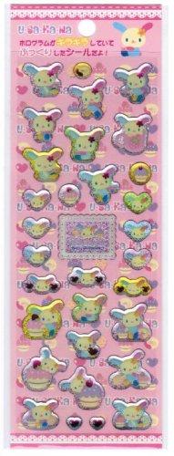 Sanrio Usahana Sparkly Epoxy Sticker