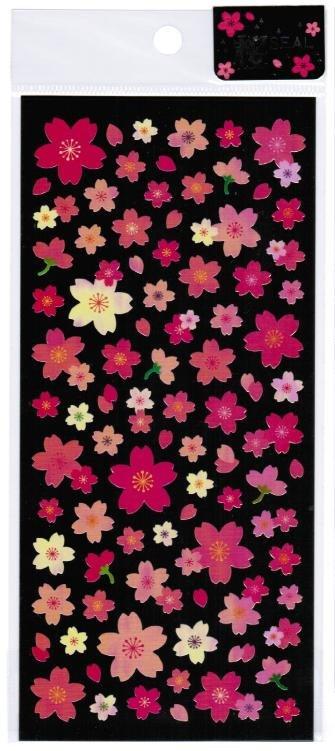 """Kamio Japan Shiny """"Sakura"""" (Cherry Blossom) Sticker"""