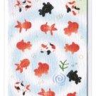 """Summer Season Glittery Washi Sticker """"Goldfish"""""""