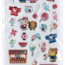 "Sanrio ""Hello Kitty"" Summer Series Epoxy Sticker with Silver Accent"