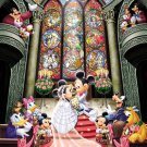 "Tenyo Disney Mickey & Minnie ""Fantasy Celebration"" - 500 Pieces Jigsaw Puzzle"