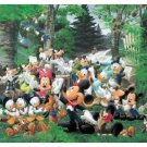 "Yanoman Disney Mickey & Friends ""Forest Orchestra"" - 300 Pieces Mini Woody Jigsaw Puzzle"